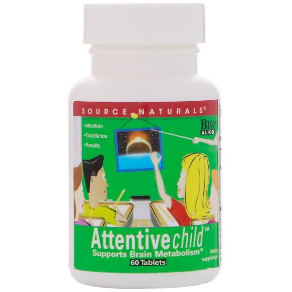 Attentive Child, 60 Tablets