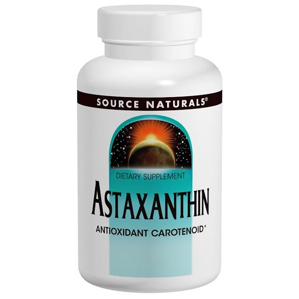Source Naturals, Astaxanthin, 2 mg, 120 Softgels