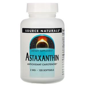 Сорс Начэралс, Astaxanthin, 2 mg, 120 Softgels отзывы