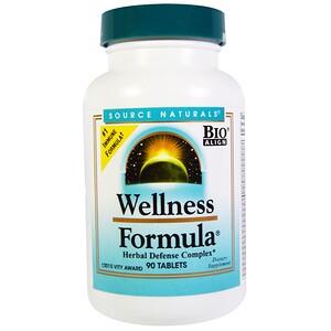Сорс Начэралс, Wellness Formula, Herbal Defense Complex, 90 Tablets отзывы покупателей
