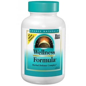 Сорс Начэралс, Wellness Formula, Herbal Defense Complex, 180 Tablets отзывы покупателей