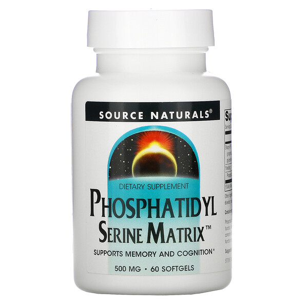 Phosphatidyl Serine Matrix, 500 mg, 60 Softgels