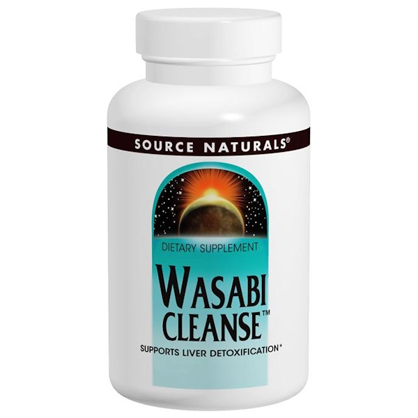 Source Naturals, Wasabi Cleanse, 200 mg, 60 Tablets (Discontinued Item)