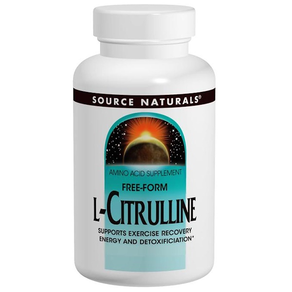 Source Naturals, L-Citrulline, 1000 mg, 60 Tablets