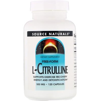 Купить L-цитруллин, 500 мг, 120 капсул