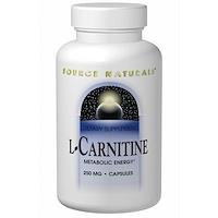L-карнитин, 250 мг, 120 капсул - фото