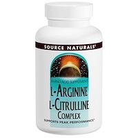 Комплекс L-аргинина и L-цитруллина, 1000 мг, 120 таблеток - фото