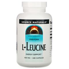 Source Naturals, 亮氨酸,500毫克,240粒膠囊