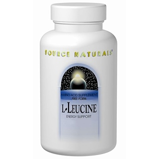 Source Naturals, L-Leucine, 500 mg, 240 Capsules