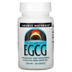 Source Naturals, 表沒食子兒茶素沒食子酸酯,350 毫克,60 片
