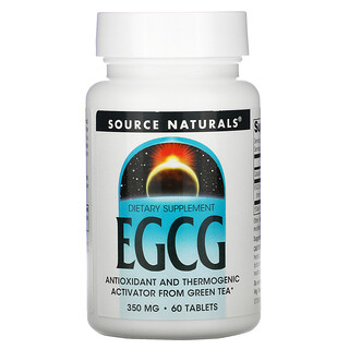 Source Naturals, EGCG, 350 밀리그램, 60 정