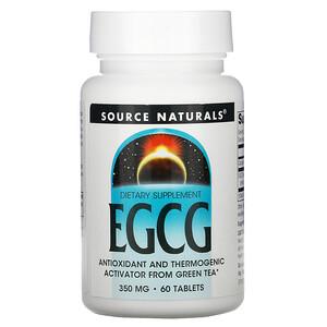 Сорс Начэралс, EGCG, 350 mg, 60 Tablets отзывы покупателей