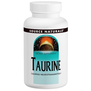 Source Naturals, Taurin 1000, 1 000 mg, 240 Kapseln