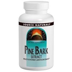 Source Naturals, パインバークエキス、60タブレット