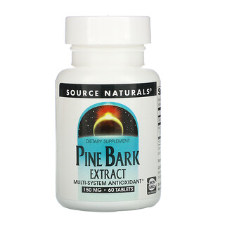 Source Naturals, Pine Bark Extract, 150 mg, 60 Tablets