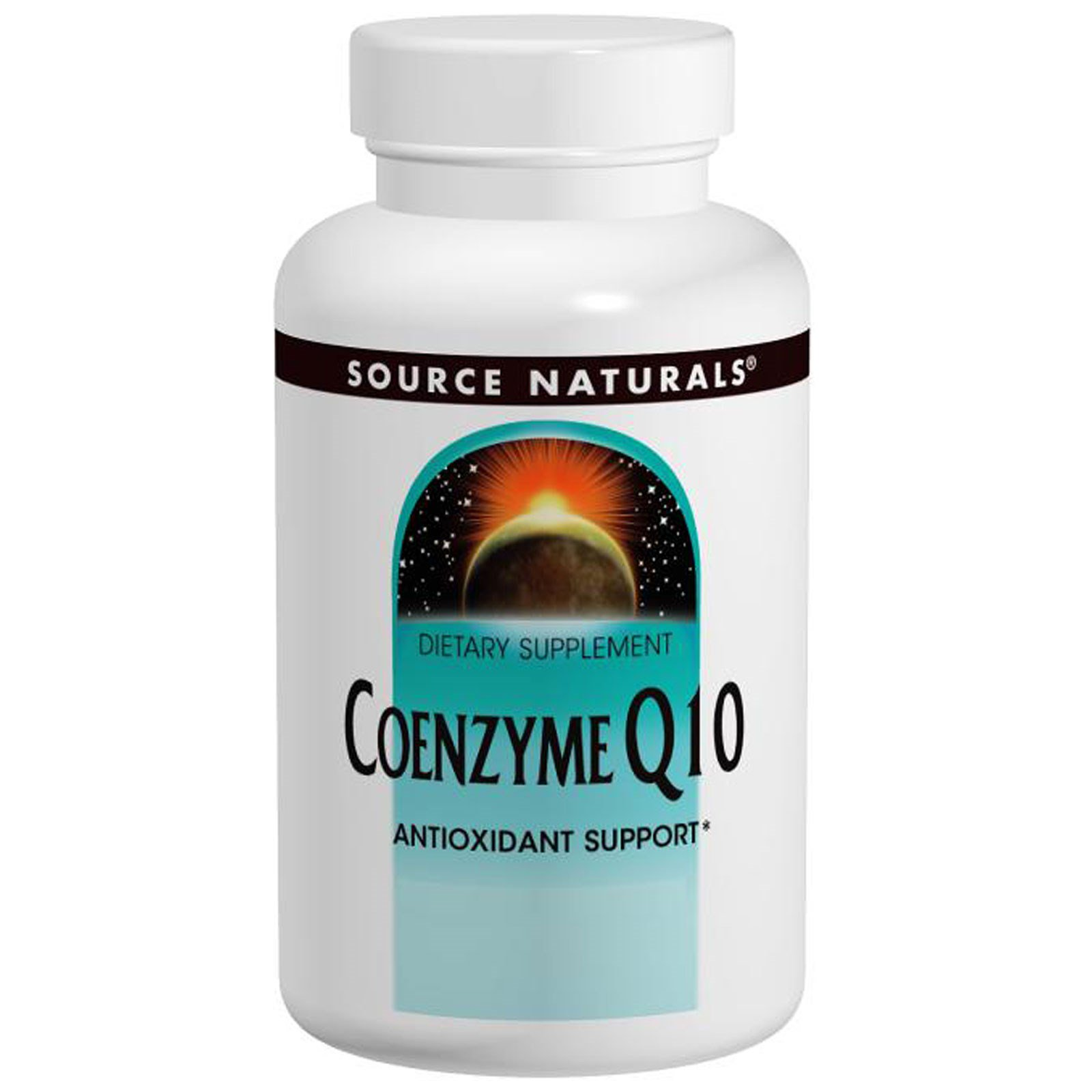 Source Naturals, CoQ10 комплекс 60 овощных капсул