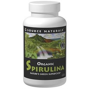 Сорс Начэралс, Organic Spirulina, 8 oz (226.7 g) отзывы
