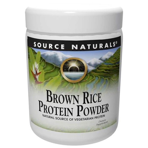 Source Naturals, Brown Rice Protein Powder, 32 oz (907 g) (Discontinued Item)