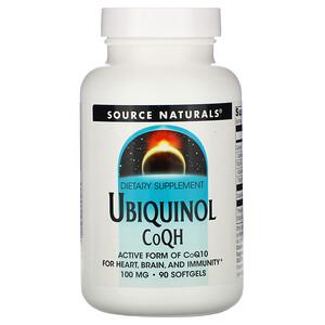 Сорс Начэралс, Ubiquinol CoQH, 100 mg, 90 Softgels отзывы покупателей