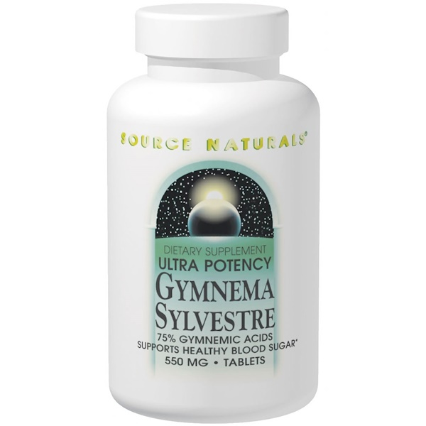 Source Naturals, Ultra Potency Gymnema Sylvestre, 550 mg, 120 Tablets