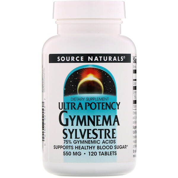 Ultra Potency Gymnema Sylvestre, 550 mg, 120 Tablets