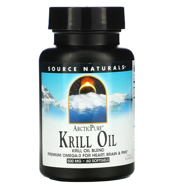 ArcticPure, Krill Oil, 500 mg, 60 Softgels