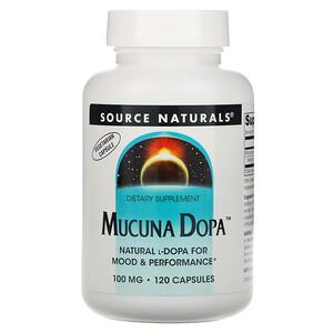Сорс Начэралс, Mucuna Dopa, 100 mg, 120 Capsules отзывы