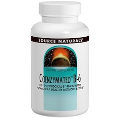 Source Naturals, Coenzymated B-6, 300 mg, 30 Tablets