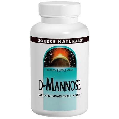 D-манноза, 500 мг, 60 капсул