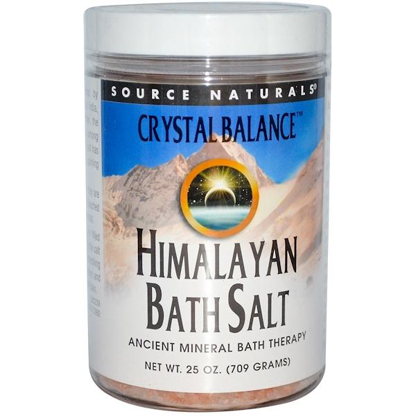 Source Naturals, Himalayan Bath Salt, 25 oz (709 g) (Discontinued Item)