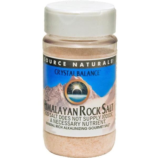 Source Naturals, Crystal Balance, Himalayan Rock Salt, Course Grind, 12 oz (340 g) (Discontinued Item)