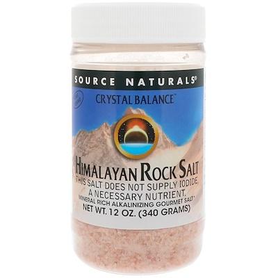 Кристаллический баланс, гималайская каменная соль, мелкого помола, 12 унций (340 г)