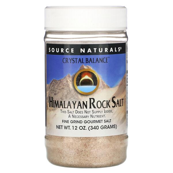 Crystal Balance, Himalayan Rock Salt, Fine Grind, 12 oz (340 g)