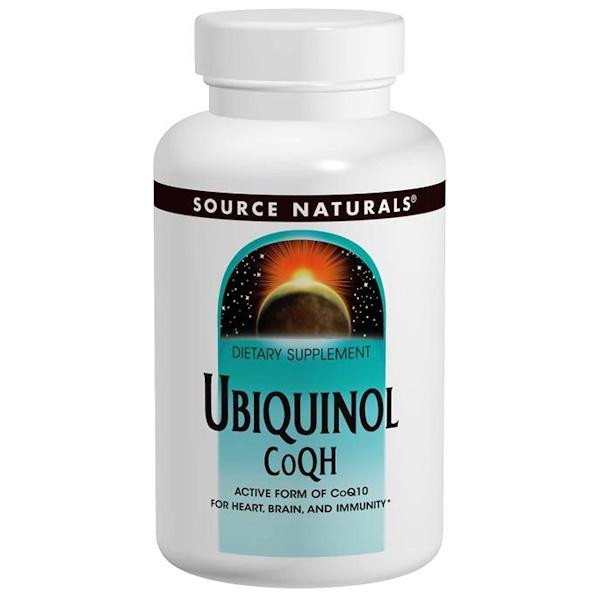 Source Naturals, Ubiquinol CoQH, 50 mg, 30 Softgels (Discontinued Item)