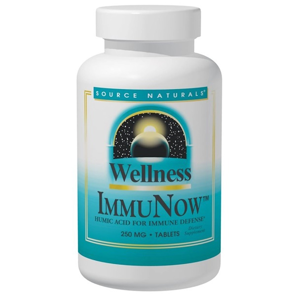 Source Naturals, Wellness ImmuNow Humic Acid, 30 Tablets (Discontinued Item)