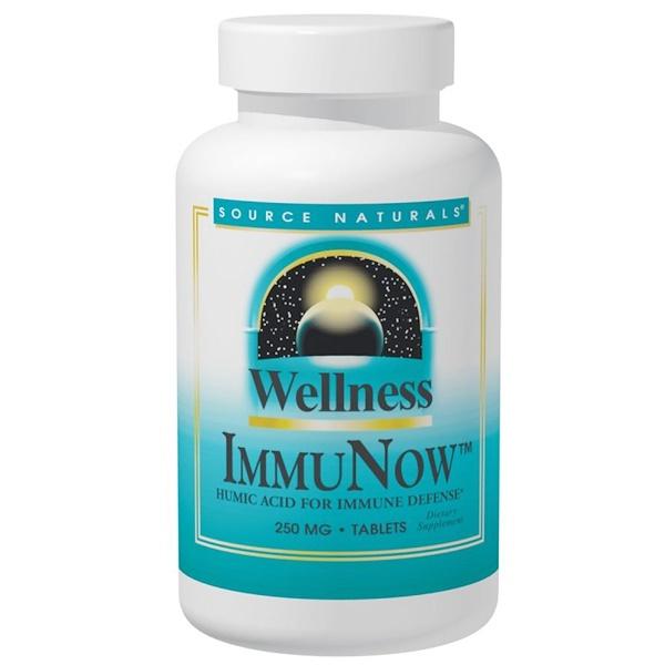 Source Naturals, Wellness ImmuNow, 250 mg, 60 Tablets (Discontinued Item)