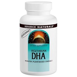 Сорс Начэралс, Vegetarian DHA, 200 mg, 120 Softgels отзывы