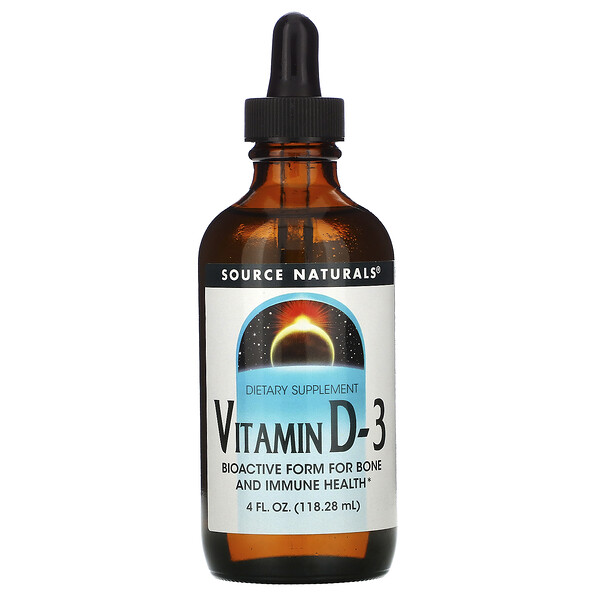 Vitamin D-3, 4 fl oz (118.28 ml)