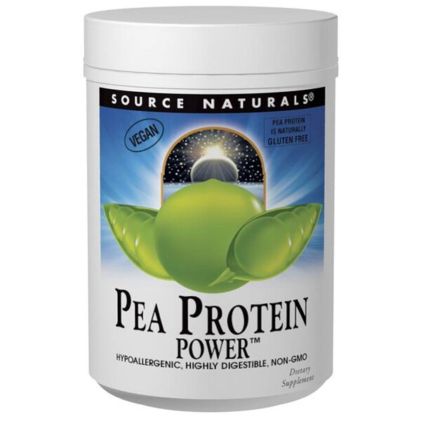 Source Naturals, Pea Protein Power, 32 oz (907 g)