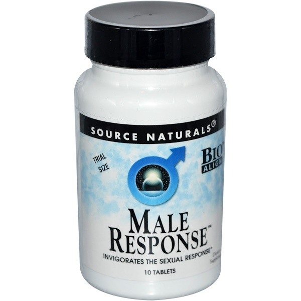 Source Naturals, Male Response, 10 Tablets (Discontinued Item)