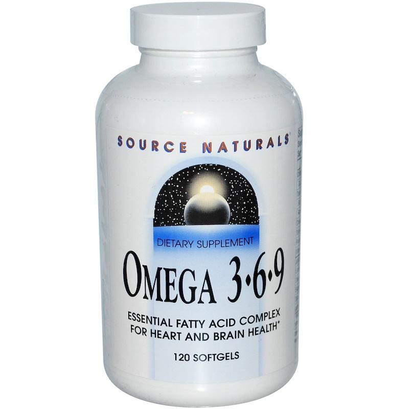 Omega 3-6-9, 120 Softgels