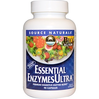 Source Naturals, Essential EnzymesUltra, 90 Capsules