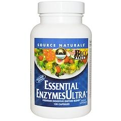 Source Naturals, 에센셜 효소 울트라, 120 정