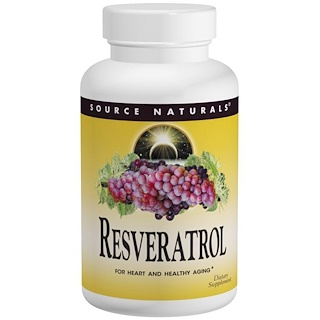 Source Naturals, Resveratrol, 60 Tablets