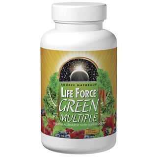 Source Naturals, Life Force, Green Multiple, 180 Tablets