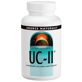 Source Naturals, UC-II, 40 mg, 120 Capsules