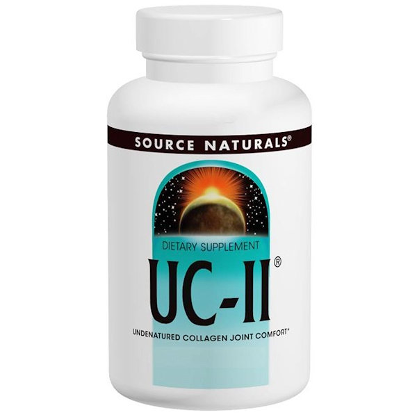 Source Naturals, UC-II, 40 mg, 120 Capsules (Discontinued Item)
