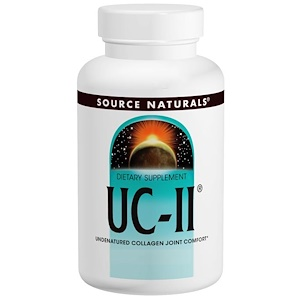 Сорс Начэралс, UC-II, 40 mg, 120 Capsules отзывы