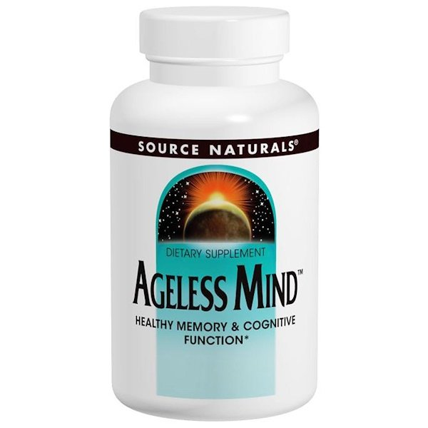 Source Naturals, Ageless Mind, 60 Tablets (Discontinued Item)