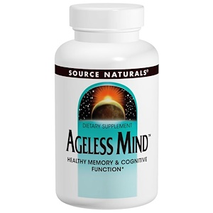 Сорс Начэралс, Ageless Mind, 60 Tablets отзывы